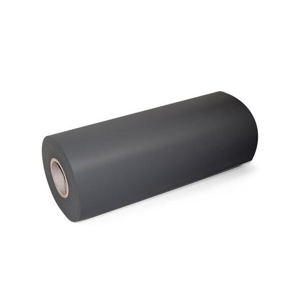Emuca Rutschschutzmatte für Küchen-Schubladen, Kunststoff, Textilanthrazitgrau, 20 m