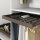 Emuca Ausziehbarer Hosenbögel, regulierbar, für Modul 600 mm, 7 Stangen, Aluminium und Stahl, Farbe Mokka