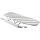 Emuca Ausziehbares Bügelbrett, 945 mm, Stahl, Weiß