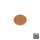 Emuca Abdeckkappe für Schrauben, selbstklebend, D. 13 mm, Farbe Kirschbaum, 1.000 St.