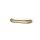 Emuca Möbelgriff, Achsabstand 96 mm, Zamak, Altgold, 25 St.