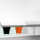 Emuca Selbstklebender Möbelgriff, 126 mm, Aluminium, Matt eloxiert, 20 St.
