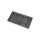 Emuca Besteckfach Optima für Küchenschublade Vertex/Concept 500, Modul 900 mm, Spanplatte 16mm, Kunststoff, Anthrazitgrau