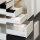Emuca Schubladen-Kit für Küche Vantage-Q, H. 83 mm, T. 500 mm, sanftes Schließen, Stahl, Grau metallic