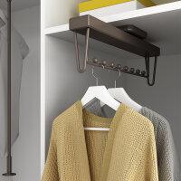Emuca Ausziehbare Kleiderstange für Schränke,...