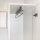 Emuca Ausziehbare Kleiderstange für Schränke, 800 mm, Stahl und Kunststoff, Grau metallic
