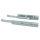 Emuca Satz versteckte Führungen für Schubladen, Rollschub, 490 mm, Teilauszug, Push-System, Verzinkt