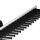 Emuca Ausziehbarer seiticher Krawattenhalter für Schränke, Aluminium und Kunststoff, matt eloxiert und schwarz.