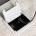 Emuca Mehrfach-Steckerleiste für Tische, 2 USB+1 HDMI+1 Schuko-Steckdose, 145x130 mm, Stahl und Aluminium, Aluminium