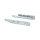 Emuca Satz versteckte Führungen für Schubladen, Rollschub, 240 mm, Vollauszug, Push-System, Verzinkt