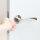 Emuca Türgriffe für Innentüren, mit Rosetten D.50 mm, aluminium, satiniertes Nickel, 1 st.