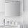 Emuca LED-Anbauleuchte für Badspiegel, 800 mm, IP44, kaltes weißes Licht, Aluminium und Kunststoff, Verchromt