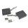 Emuca Kompass für Schwenktüren, Stärke  480-1.250, Stahl und Kunststoff, Anthrazitgrau