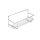 Emuca Gewürzregal für Wand oder Küchenmöbel, 3 Regale, Stahl, verchromt.