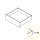 Emuca Schubladen-Kit für Küche Concept, 50Kg,  H. 138 mm, T. 500 mm, sanftes Schließen, Stahl, Anthrazit