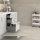 Emuca Schubladen-Kit für Küche Concept, H. 105 mm, T. 500 mm, sanftes Schließen, Stahl, Anthrazit