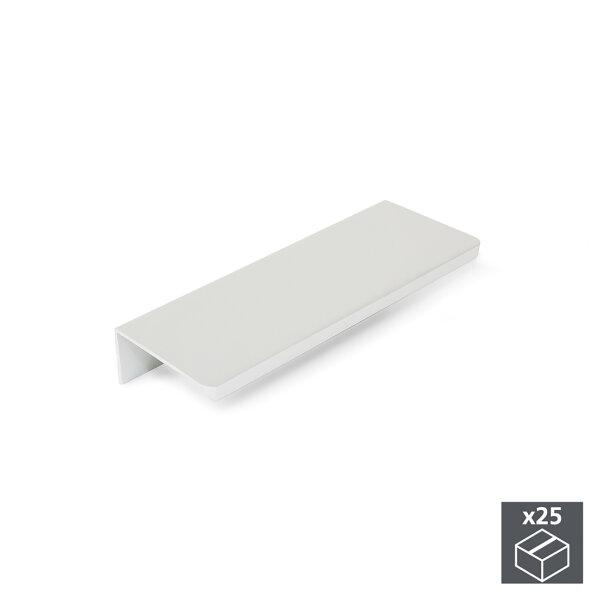 Emuca Möbelgriff, Achsabstand 32 mm, Aluminium, Matt eloxiert, 25 St.