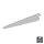 Emuca Regalträger für Holz-/Glasregal, für Profil mit Durchlass 32 mm, 370 mm, Stahl, Weiß, 20 St.