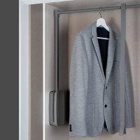 Emuca Ausziehbare Kleiderstange für Schrank,...