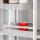 Emuca Schubladen-Kit für Küche Vantage-Q, H. 141 mm, T. 450 mm, mit Relingen, sanftes Schließen, Stahl, Grau metallic