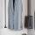 Emuca Seitlicher Abstandhalter für Kleiderlift, Kunststoff, Farbe Mokka, 2 st