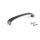 Emuca Möbelgriff, Achsabstand 96 mm, Zamak, Farbe Titanium