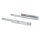 Emuca Satz versteckte Führungen für Schubladen, Rollschub, 440 mm, Teilauszug, Push-System, Verzinkt