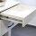 Emuca Satz Führungen für Schublade, Kugelauszug, 45x400 mm, Vollauszug, Push-System, sanftes Schließen, Verzinkt, 5 St.