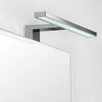 Emuca LED-Anbauleuchte für Badspiegel, 450 mm, IP44,...