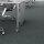 Emuca Rollen Mak, mit Anschraubplatte, D. 80 mm, Stahl und Kunststoff, 4 St.