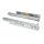 Emuca Satz versteckte Führungen für Schubladen, Rollschub, 450 mm, Vollauszug, Push-System, Verzinkt