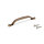 Emuca Möbelgriff, Achsabstand 96 mm, Zamak, Bronce