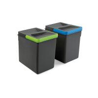 Emuca Behälter für Küchenschublade, H 216...