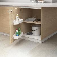 Emuca Magnetischer Sicherheitsverschluss für Möbel, Kunststoff, Weiß, 2 St.