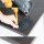 Emuca Tischbein, D. 80 mm, höhenverstellbar 870-900 mm, Stahl, Verchromt
