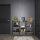 Emuca Lader Regalsystem Lader, Höhe 1790 mm, Stahl, schwarz lackiert