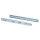 Emuca Satz Führungen für Schubladen, Kugelvollauszug, 45 x 400 mm, Verzinkt