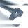 Emuca Tischbeine, D. 60 mm, höhenverstellbar 830-850 mm, Stahl, Verchromt, 4 St.