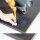 Emuca Tischbeine, D. 60 mm, höhenverstellbar 710-730 mm, Stahl, Weiß, 4 St.