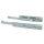 Emuca Satz versteckte Führungen für Schubladen, Rollschub, 390 mm, Teilauszug, sanftes Schließen, Verzinkt