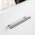Emuca Möbelgriff, D. 12 mm, Achsabstand 224 mm, Stahl, Satiniert vernickelt