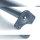 Emuca Tischbeine, D. 60 mm, höhenverstellbar 710-730 mm, Stahl, Verchromt, 4 St.