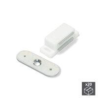 Emuca Magnetverschluss für Türen, Stahl und...