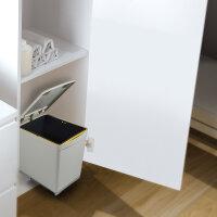 Emuca Recycle-Mülleimer, 16 L, unterseitige...