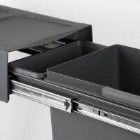 Emuca 20L Recyclingbehälter für Küche,...