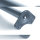 Emuca Tischbeine, D. 60 mm, höhenverstellbar 710-730 mm, Stahl, Satiniert vernickelt, 4 St.