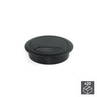 Emuca Kabeldurchlass, rund, D. 60 mm, zum Einbetten,...