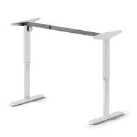 Emuca Höhenverstellbarer motorisierter Tisch, Stahl,...