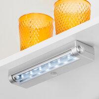 Emuca LED-Anbauleuchte batteriebetrieben,...