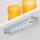 Emuca LED-Anbauleuchte batteriebetrieben, Bewebungssensor, kaltes weißes Licht, Kunststoff, Grau metallic